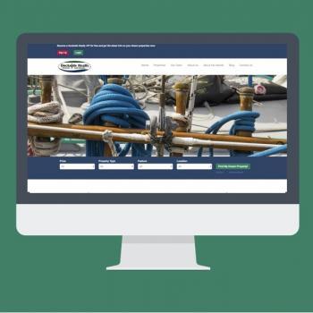 Dockside Realty Website designed by Virtual Wave Media