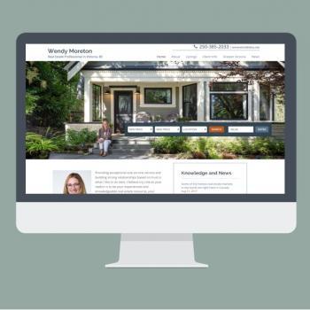 Wendy Moreton Real Estate Website Design by Virtual Wave Media